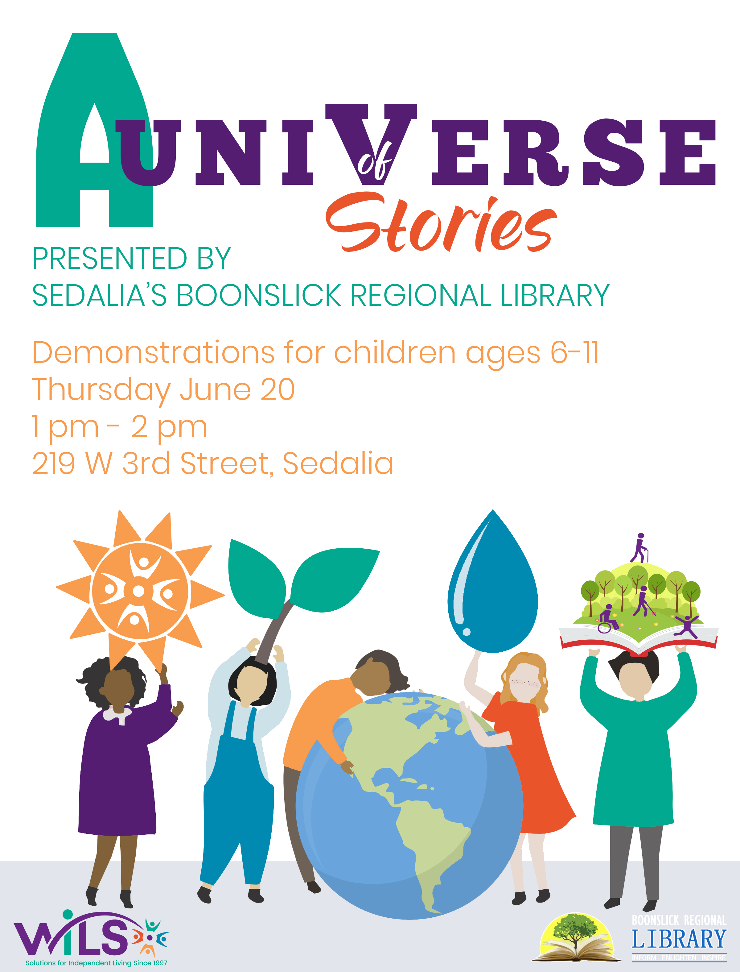 A Universe of Stories @ Sedalia Boonslick Regional Library
