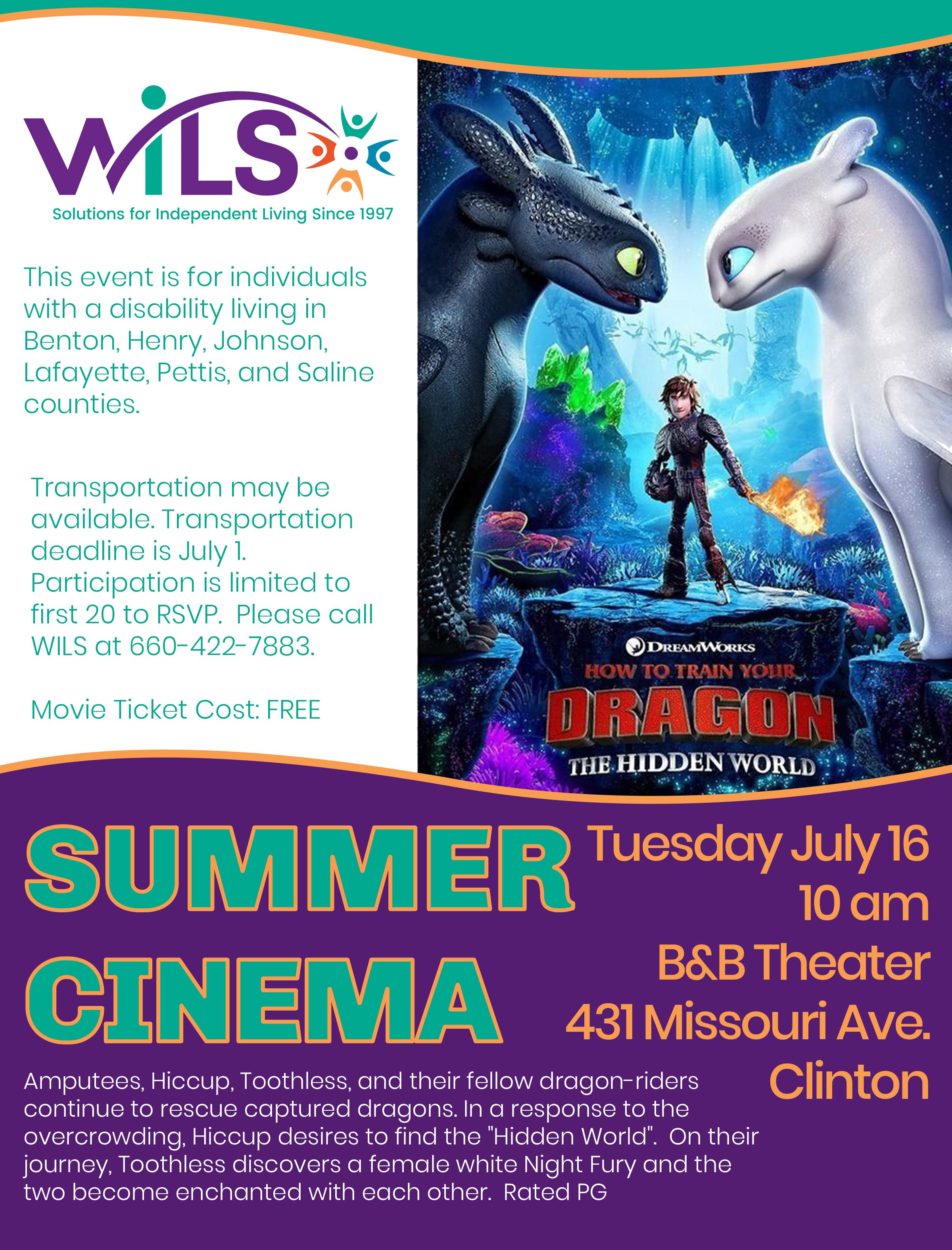 Summer Cinema @ B&B Theater